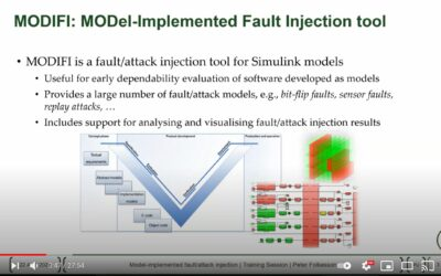 Watch the VALU3S training session series, part seven: Model-implemented fault and attack injection